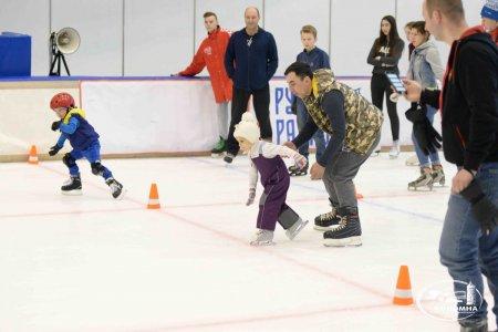 Финал соревнований «Кубок скорохода» прошёл на льду Конькобежного центра «Коломна»