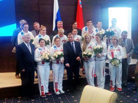 Коломенские спортсмены и тренеры отмечены орденами и благодарностями Губернатора Московской области