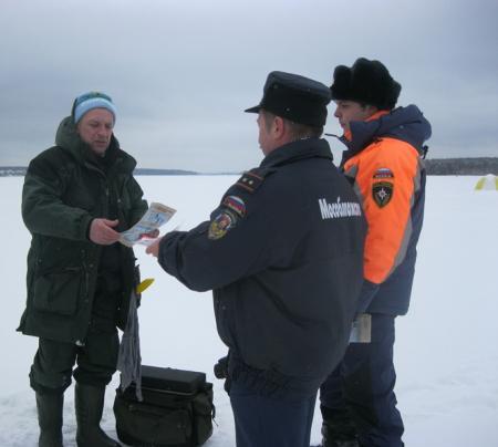 Выход на тонкий лёд водоемов Московской области опасен для жизни