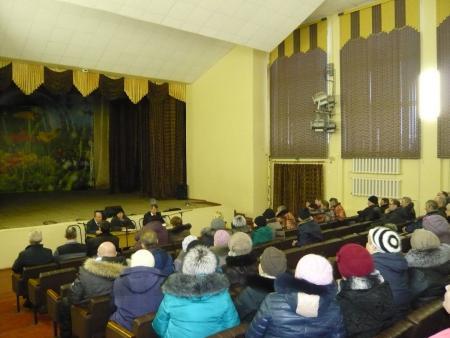 В Сельниково прошла встреча с населением
