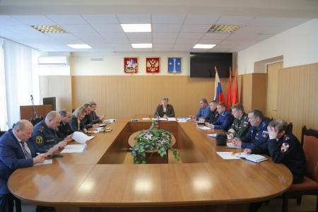 Заседание Антитеррористической комиссии Коломенского городского округа 1 марта 2018 года