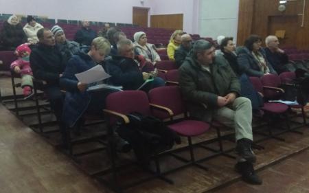 Жители Непецино задали вопросы о ЖКХ