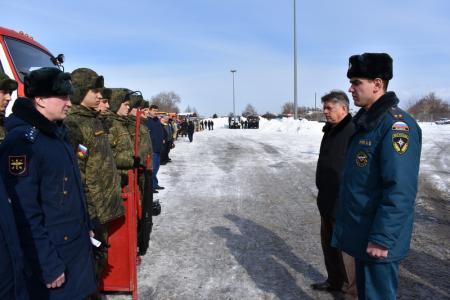 Проверка готовности сил и средств Коломенского городского звена МОСЧС, спланированных для предупреждения и ликвидации чрезвычайных ситуаций, вызванных природными пожарами