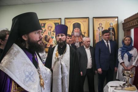 В Коломенском перинатальном центре освятили домовый храм