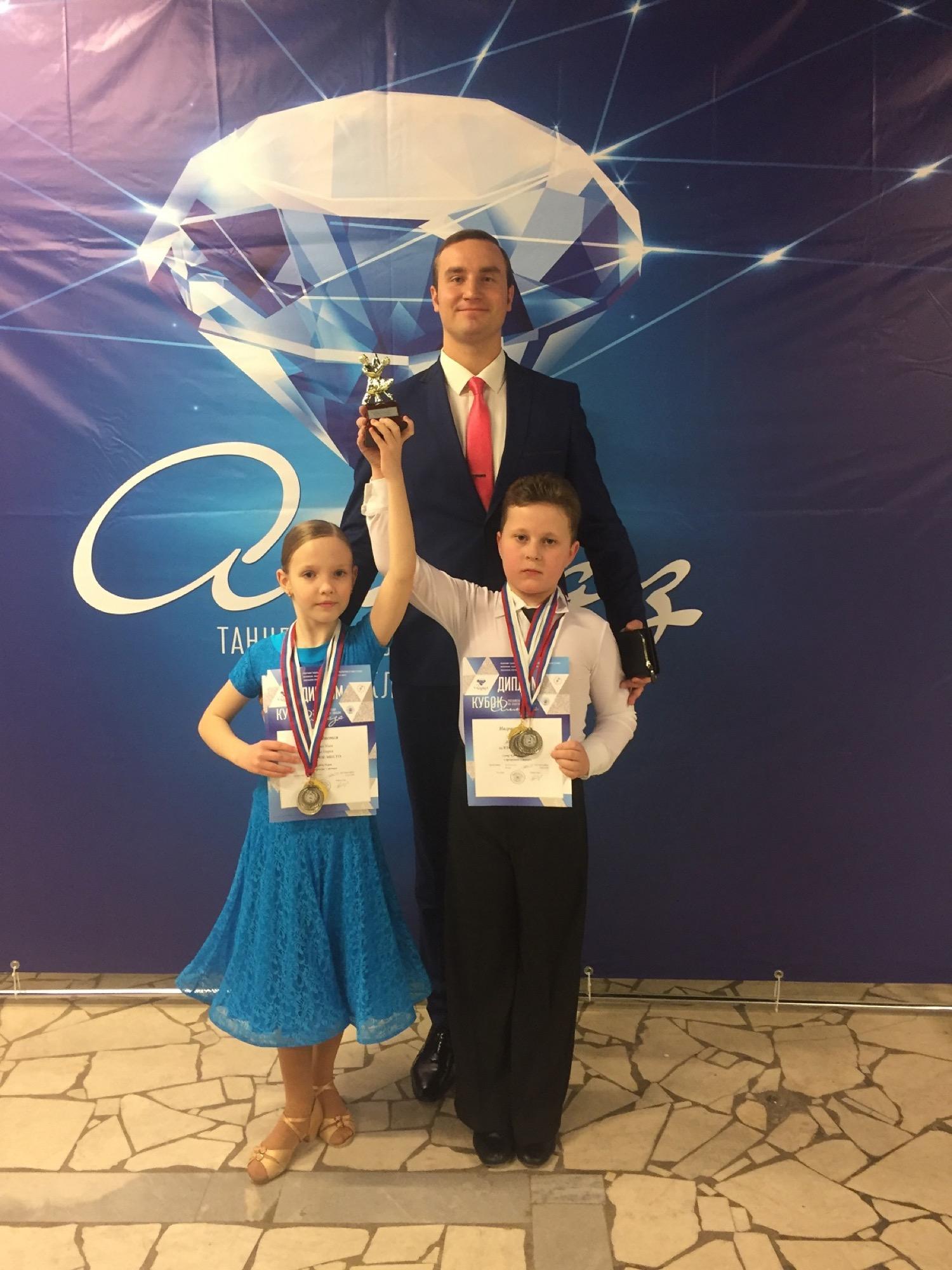 Коломенские спортсмены заняли призовые места на Всероссийском турнире по спортивным танцам