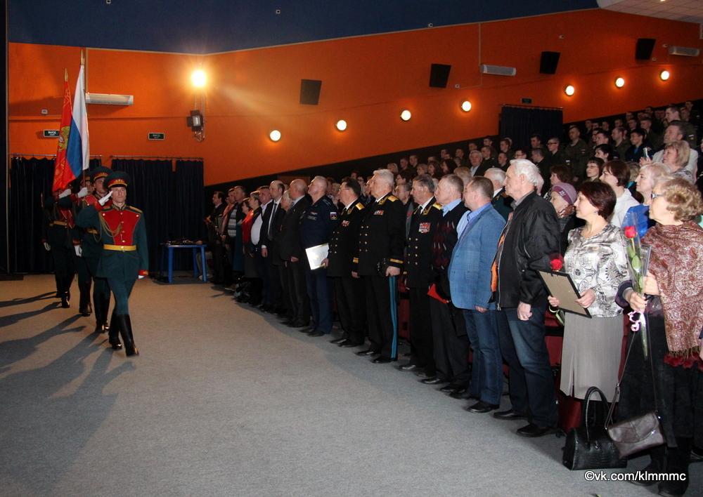 В Коломне отпраздновали 100-летие образования военных комиссариатов России