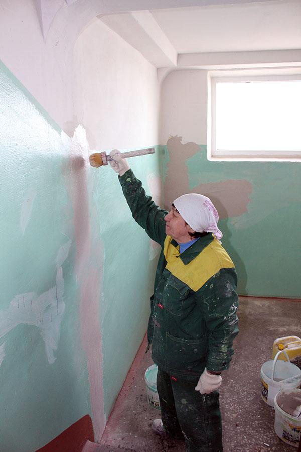 Новости Коломны   Продолжаются работы по ремонту подъездов Фото (Коломна)   iz zhizni kolomnyi