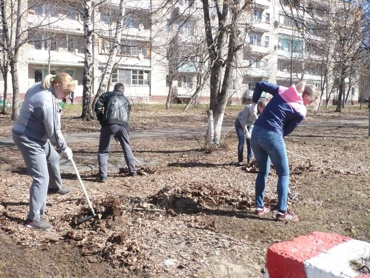 Новости Коломны   В Коломенском городском округе стартовали первые субботники Фото (Коломна)   iz zhizni kolomnyi