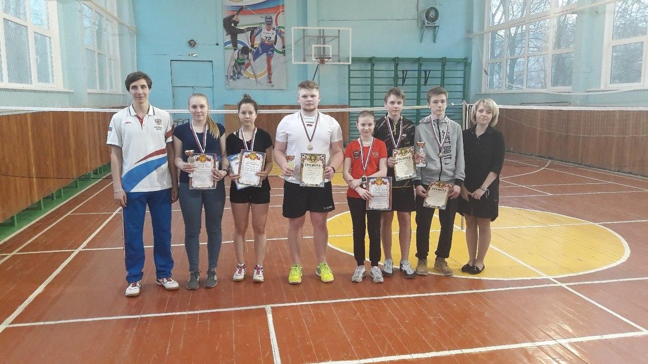 Победители и призеры Кубка Коломенского городского округа по бадминтону