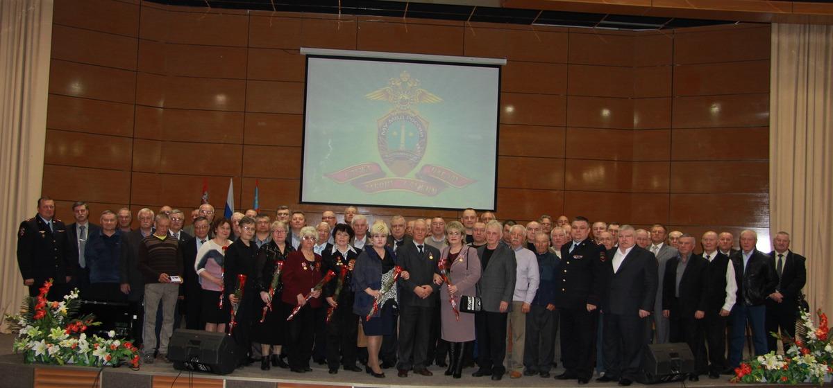 Праздник для ветеранов органов внутренних дел
