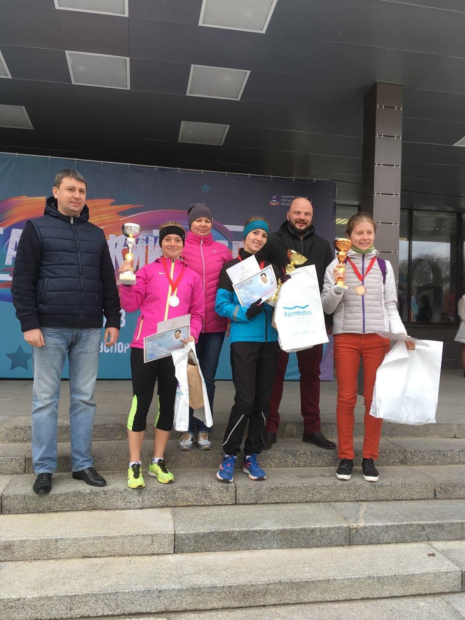 Коломенская стала победительницей соревнований по лёгкой атлетике