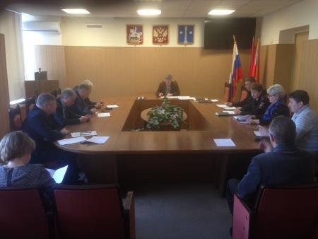 Заседание Антинаркотической комиссии Коломенского городского округа 29 марта 2018 года