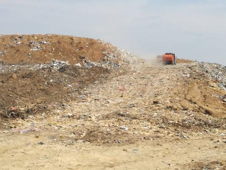 Количество завезенного мусора 9 - 10 апреля