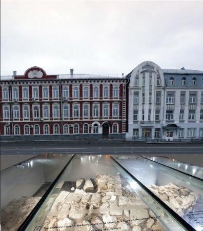 Фундамент часовни Александра Невского будет накрыт стеклянным куполом