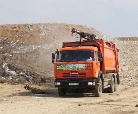Количество завезенного мусора 20 - 23 апреля
