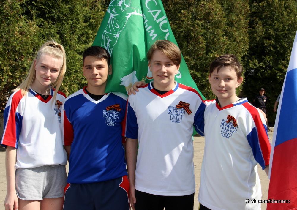 Спортсмены Коломны почтили память героев Великой Отечественной войны легкоатлетическим пробегом