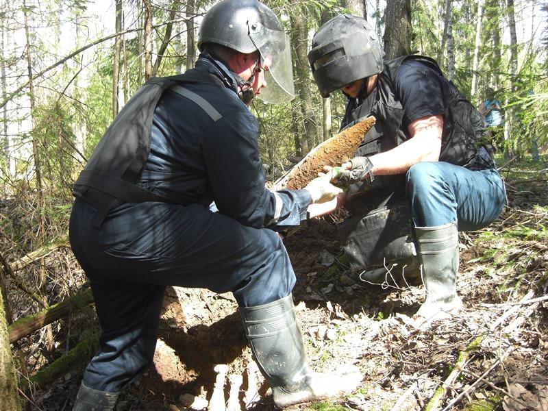 38 боеприпасов времен Великой Отечественной войны обезврежено в Московской области с начала года