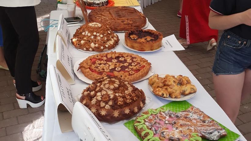 Семья из Коломны представила лучший «Богатырский пирог»