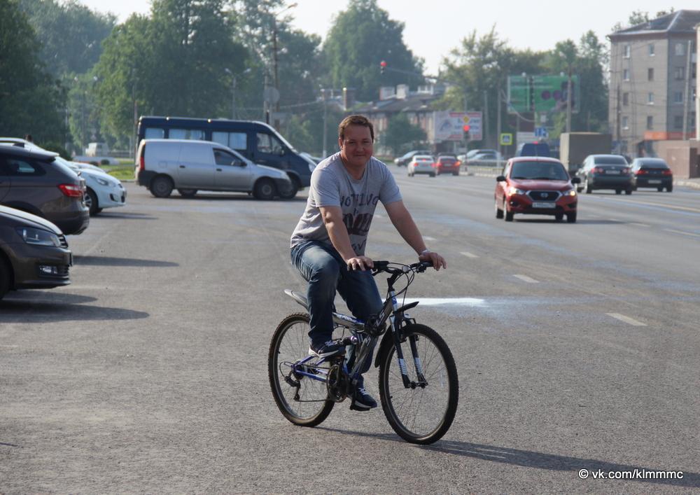 Коломенцы поддержали акцию «На работу на велосипеде»