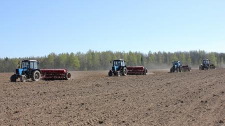 Сведения о ходе весенних полевых работ в Коломенском городском округе на 07.05.2018