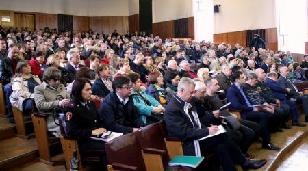 Заседание Антитеррористической комиссии Коломенского городского округа 26 апреля 2018 года