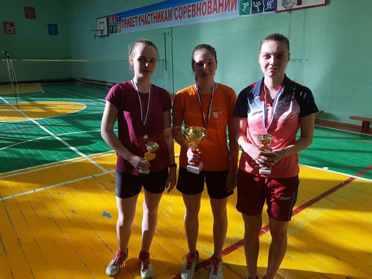 Итоги Открытого Чемпионата Коломенского городского округа по бадминтону