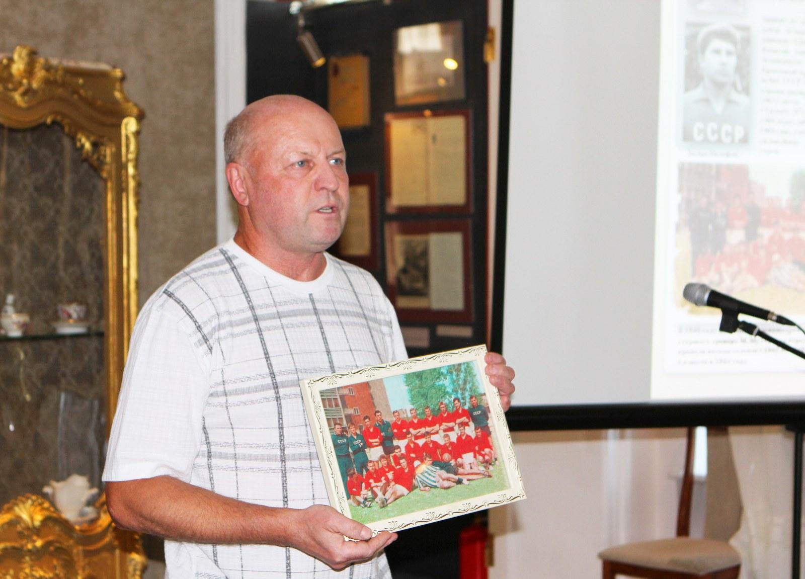 Выставка, посвященная Коломенскому футболу, открылась в Коломне