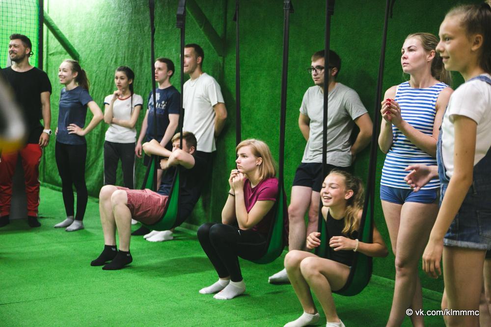 Новости Коломны   Молодые коломенцы примерили на себя роль ниндзя Фото (Коломна)   iz zhizni kolomnyi