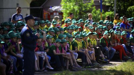 В Московской области усилена безопасность летних детских лагерей