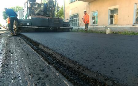 Ремонт дорог в Коломенском городском округе идет с опережением графика