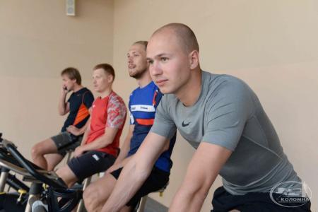 В Коломне начала тренировки сборная России
