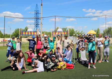 Молодежный центр «Русь» устроил праздник спорта для воспитанников детского дома