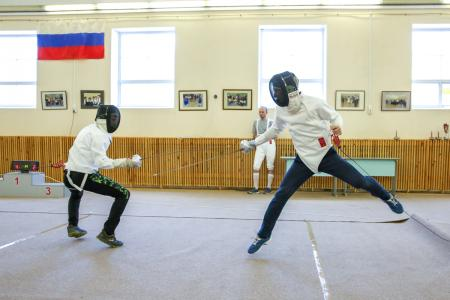 Впервые в Коломне прошли спортивные соревнования по фехтованию