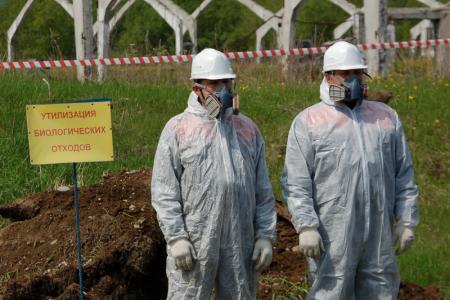 В Коломне ликвидировали незаконно складированные мясные отходы