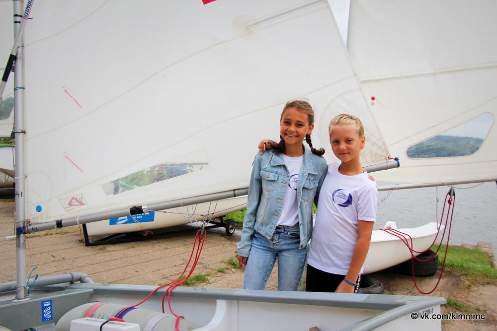 В Коломне открылись соревнования по парусному спорту