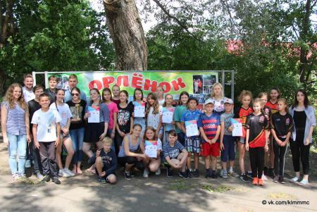 В детском лагере «Орленок» прошла интеллектуальная игра «Ок, мозг»