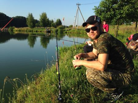 Турнир по рыбной ловле среди людей с ограниченными возможностями здоровья