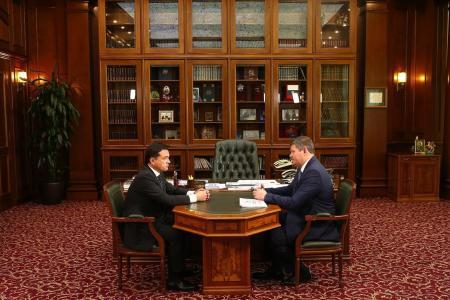 Глава округа представил губернатору итоги развития муниципалитета