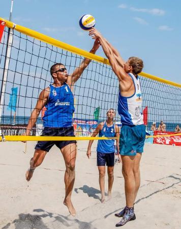 Первенство по пляжному волейболу