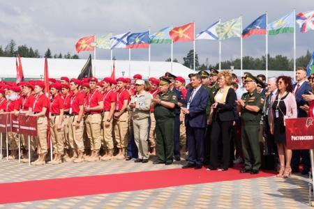 Юные патриоты Московской области принимают участие в финале Всероссийской военно-спортивной игры «Победа»