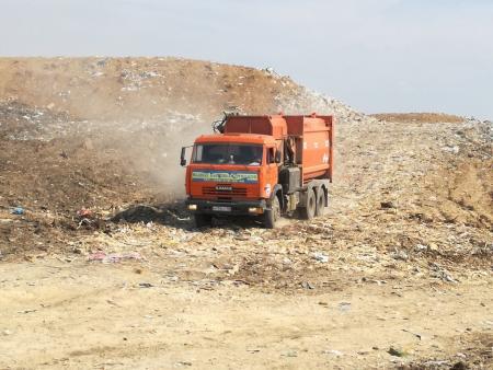 Количество завезенного мусора 25 июля