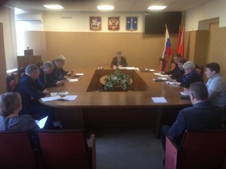 Заседание Антинаркотической комиссии Коломенского городского округа 19 июля 2018 года.