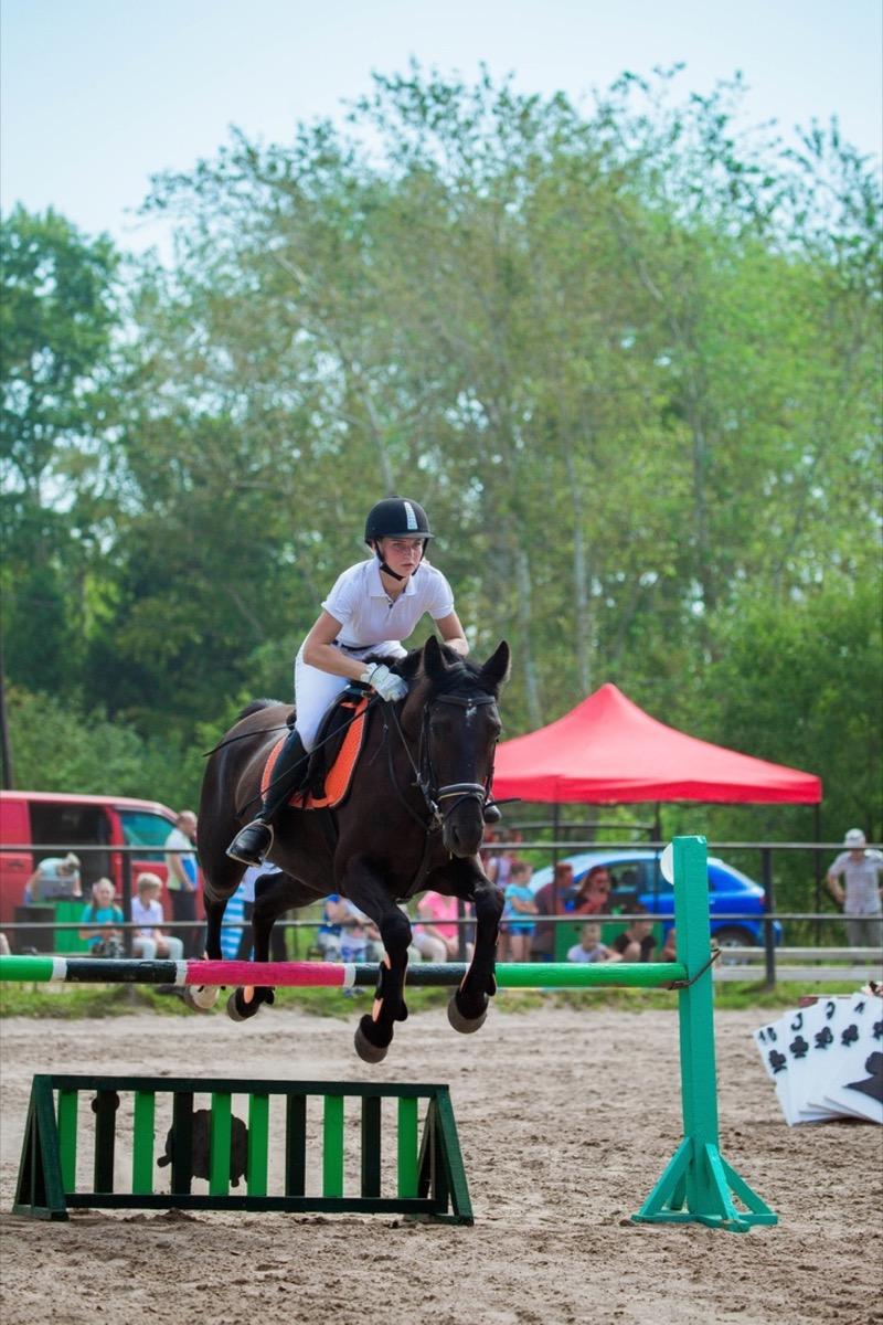 В Коломне прошли открытые соревнования по конному спорту
