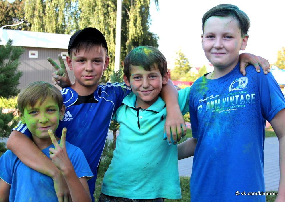 Молодежь Коломны отметила свой праздник в Акатьево