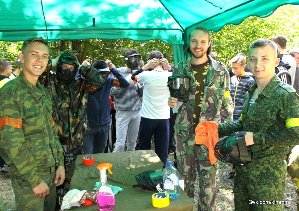 В Коломне прошел молодежный турнир по пейнтболу