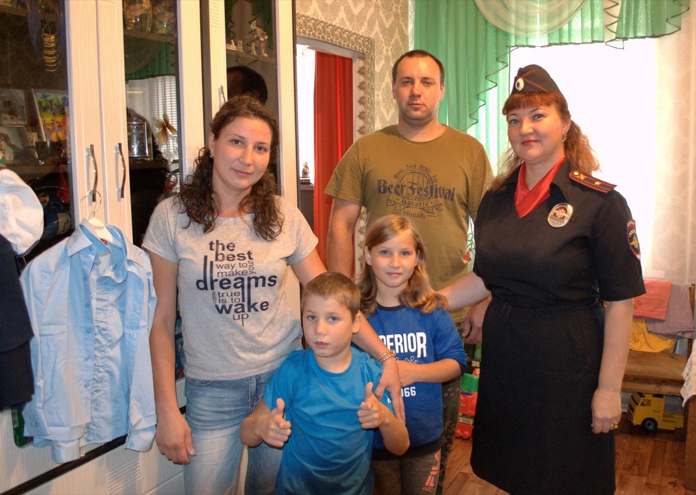 Полицейские и общественники провели в Коломне акцию «Подучётные семьи»
