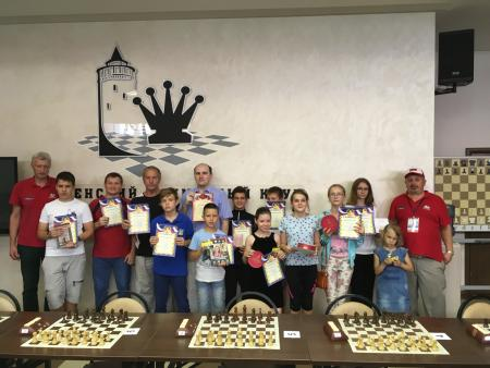 Итоги открытого турнира по быстрым шахматам