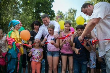 В Коломне открыли новые детские площадки