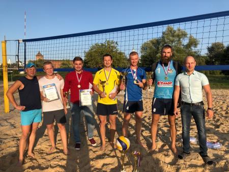 Результаты первенства Коломенского городского округа по пляжному волейболу
