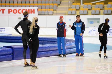 Конькобежный центр «Коломна» — основная база подготовки сборной команды России по конькобежному спорту